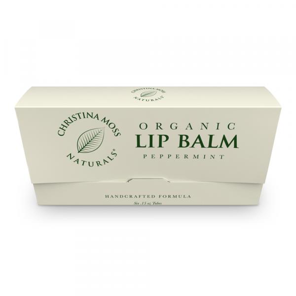 Organic Peppermint Lip Balm