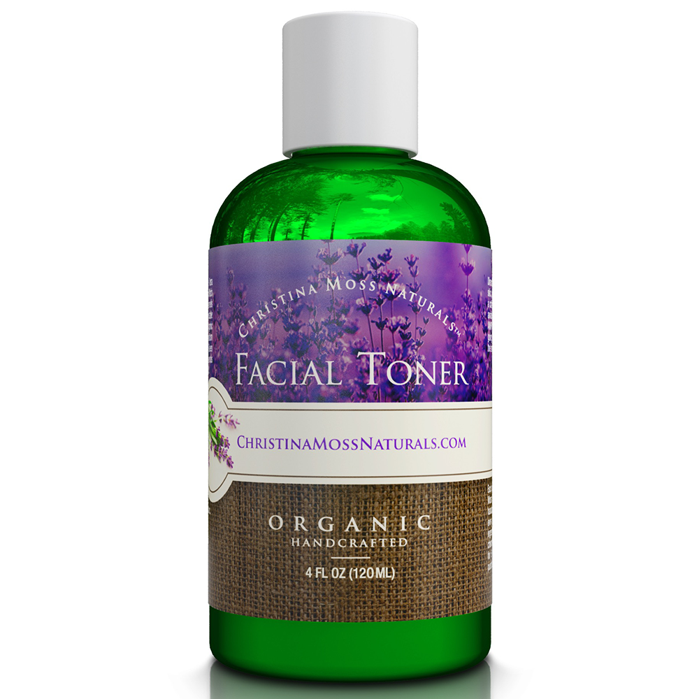 organic facial toner face natural skin ph hydrates harmful chemicals types pores refines tightens clearing restores moisturizer naturals moss christina