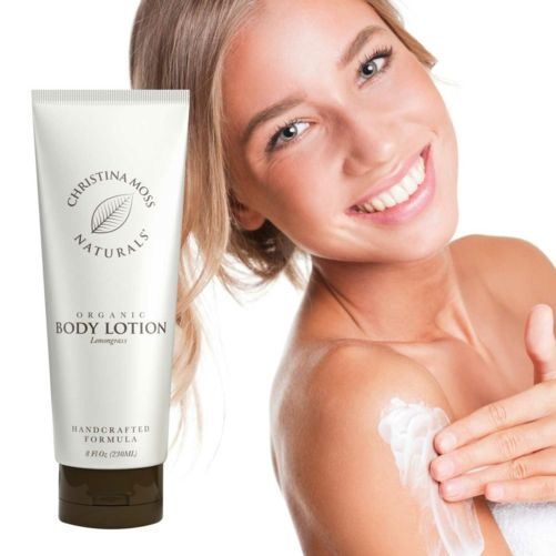 Organic Body Lotion - Lemongrass